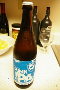punk IPA bottle