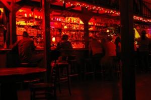 the bar at edinburgh castle