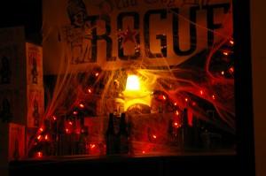 rogue halloween setup