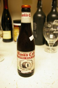 monk's cafe bottle