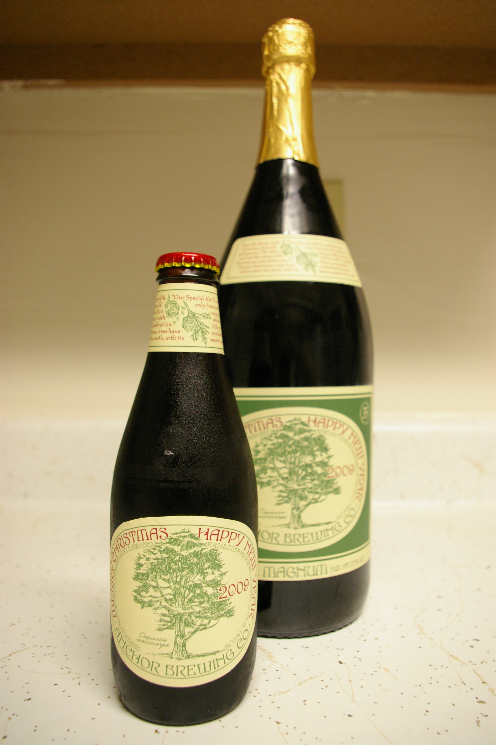 Anchor Steam Christmas Ale.Overcarbed Com Your Homebrewing And Beer Destination